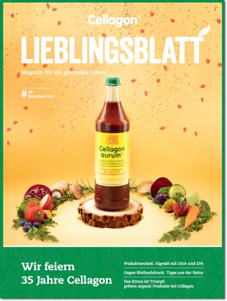 Cellagon Lieblingsblatt