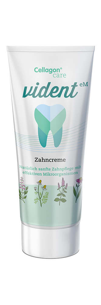 Cellagon vident Zahncreme - mit Fluorid