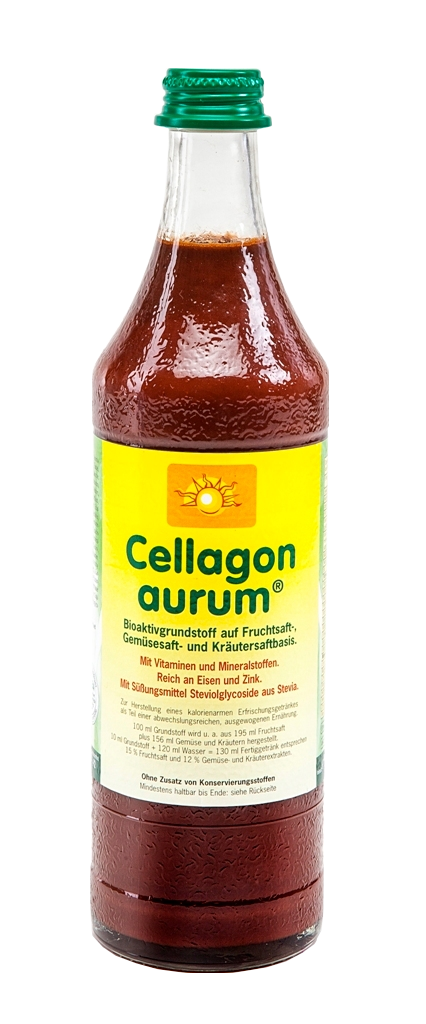 Cellagon aurum - Flasche