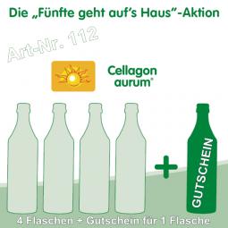 Cellagon aurum - Die Fünfte geht auf's Haus
