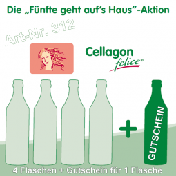 Cellagon felice - Die Fünfte geht auf's Haus