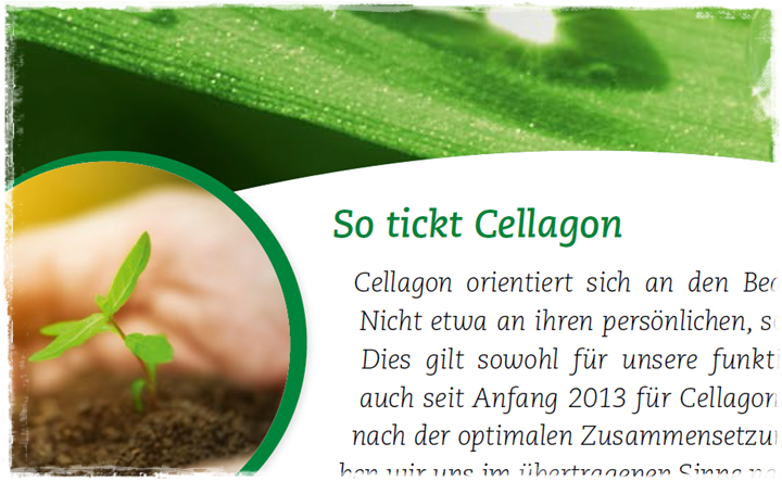 So tickt Cellagon