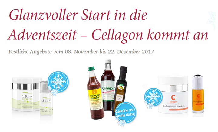 Glanzvoller Start in die Adventszeit – Cellagon kommt an